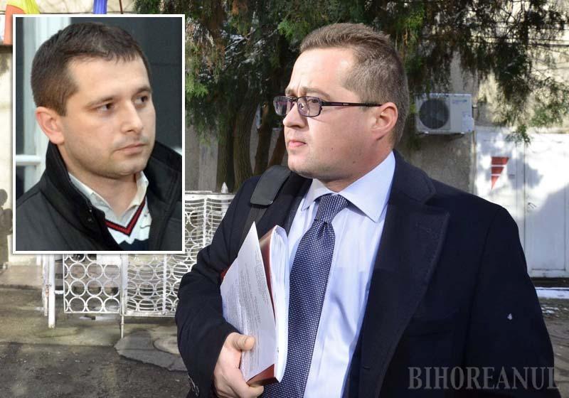 """CARE PE CARE! Deşi a aruncat în aer inclusiv credibilitatea judecătorului Antik Levente, dezvăluirea avocatului Răzvan Doseanu (foto) că DNA şi SRI i-au supravegheat clientul şi pe el însuşi l-a ţintit, de fapt, pe fostul şef al DNA Oradea, Ciprian Man (medalion), pe care îl consideră principalul """"vinovat"""" de actele de """"poliţie politică"""", bazate pe o autosesizare fabricată"""