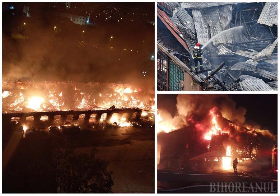 """FLĂCĂRI SUB GEAM. Incendiul de vineri noapte a băgat spaima în vecini, îngroziţi de dimensiunile pârjolului. """"Priveam pe geam şi nu-mi venea să cred. Erau flăcări tot mai mari şi fum mirosind a plastic ars. Ştiam că focul nu are cum ajunge până la bloc, dar tot m-am îngrijorat"""", povesteşte un locatar din blocul Cicero"""