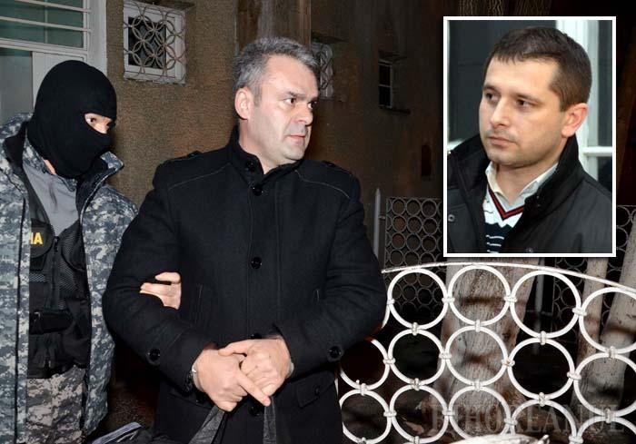 FAŢĂ ÎN FAŢĂ. Până în 2009 Gligor Sabău (stânga) era şeful direct şi prieten al actualului şef DNA Oradea, Ciprian Man (dreapta). Acum s-a trezit inculpat de fostul subaltern şi amic, căruia nu i-a rămas dator, acuzându-l de braconaj...