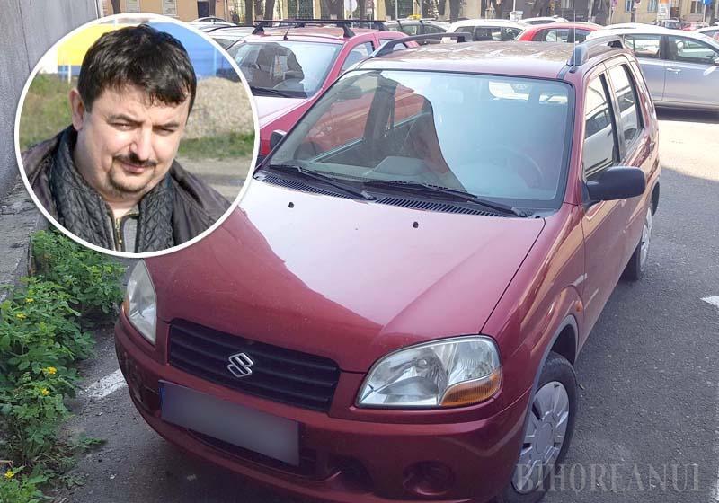 Norocel la Suzuki: Directorul Cristian Popescu şi-a luat la preţ redus o maşină a... Primăriei Oradea