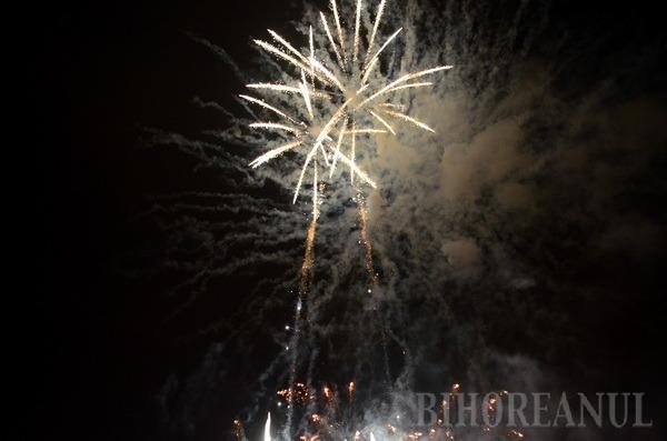 """La mulţi ani, Lotus! O """"explozie"""" de artificii a iluminat cerul în Nufărul (FOTO)"""