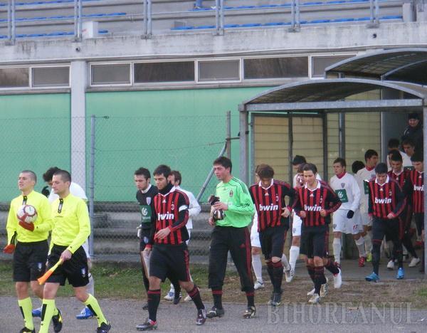 Juniorii de la Liberty i-au bătut pe italienii de la AC Milan