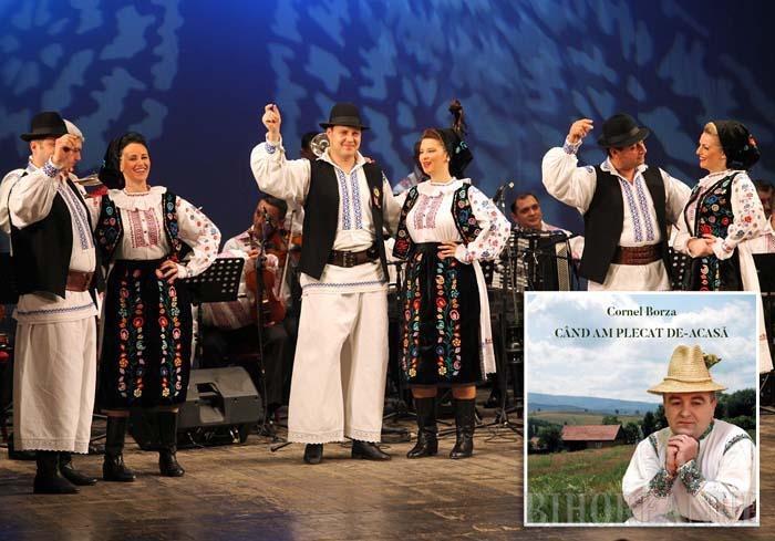 """ŞI 'OM HORI. În cadrul concertului """"Din Bihor în toată ţara"""", care va avea loc miercuri, în organizarea Ansamblului Artistic Profesionist Crişana (foto), Cornel Borza, unul dintre cei mai apreciaţi interpreţi bihoreni, va lansa, după şapte ani, un nou album cu cântece culese din bătrâni"""