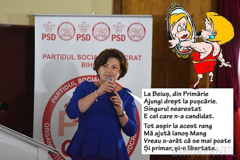Stela merge la Primărie! Şefa femeilor din PSD Bihor candidează la Primăria Beiuş