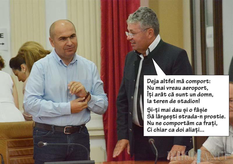 Negociere cu folos: Pásztor Sándor i-a făcut pe plac lui Ilie Bolojan. Oare ce primeşte la schimb?
