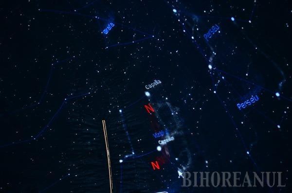 Reciclare scrisă în... stele: Elevii orădeni care adună deşeuri reciclabile fac o lecţie despre bolta cerească într-un planetariu mobil (FOTO)