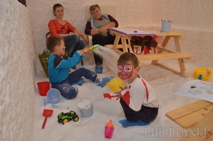 Ca sarea-n sănătate: Ofertele iernii la Salina Oradea