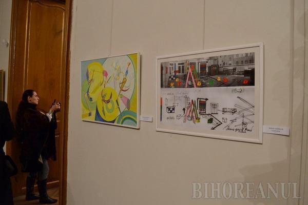 """Artiştii orădeni şi-au expus cele mai """"proaspete"""" lucrări la Salonul Municipal de Artă (FOTO)"""