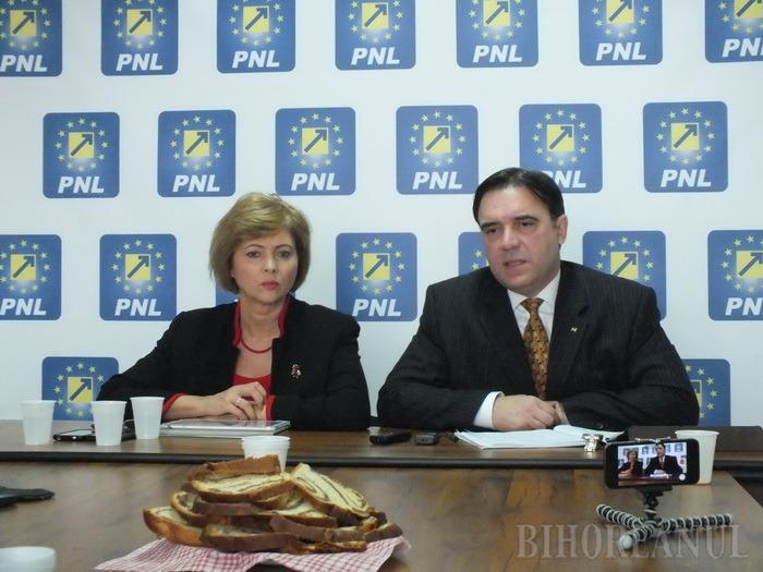 Bilanţ al deputaţilor liberali de Oradea, Florica Cherecheş şi Ioan Cupşa, cu gândul la Oradea Mare în 2016