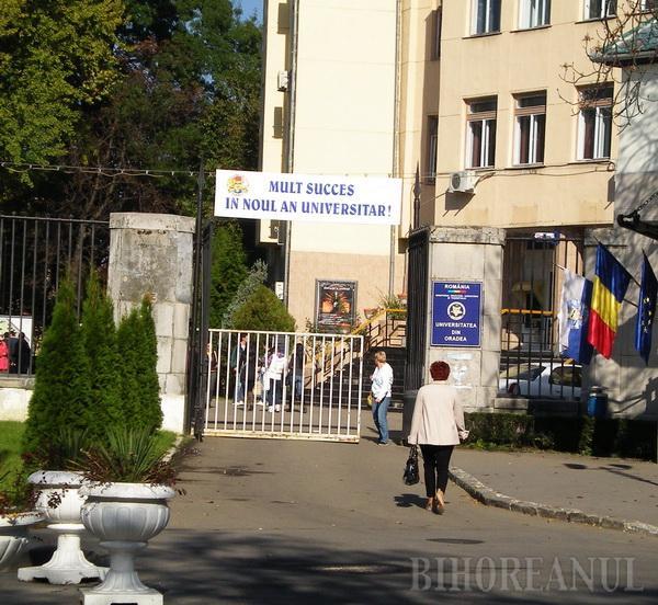 """Universitatea din Oradea a primit de la ARACIS calificativul """"încredere"""""""