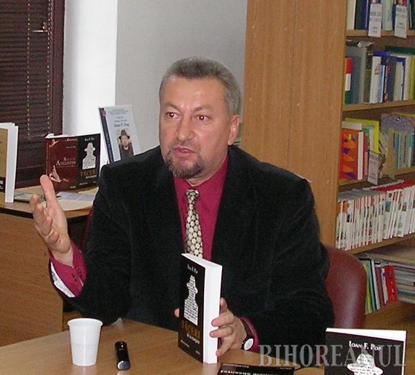 Orădeanul Ioan F. Pop a fost laureat, pentru a doua oară, cu Premiul Uniunii Scriitorilor din România, filiala Arad
