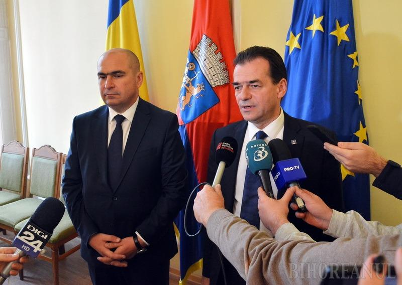 Ludovic Orban la Oradea: Vom cere schimbarea legislaţiei astfel încât întreg impozitul pe venit să devină sursă la bugetele locale