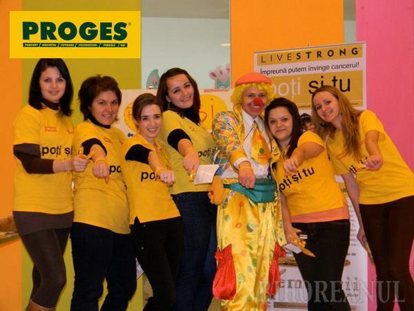 Proges sprijină lupta copiilor împotriva cancerului