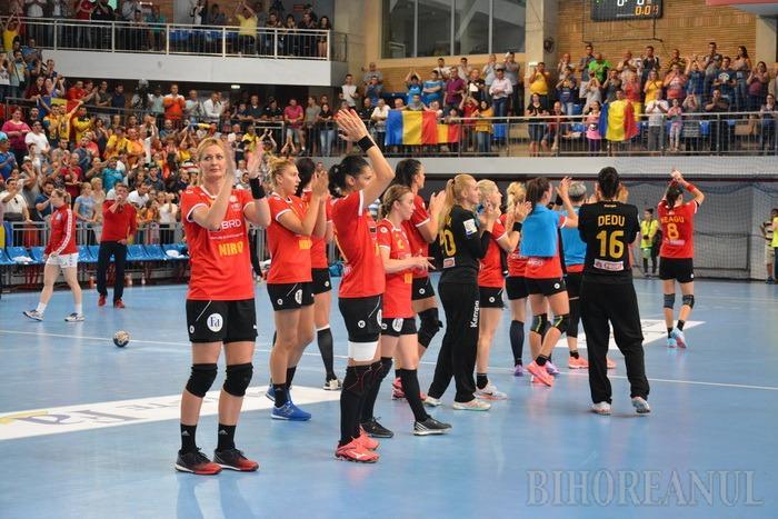 Le-a priit la Oradea: România a bătut Austria şi s-a calificat la Campionatul Mondial de handbal feminin!