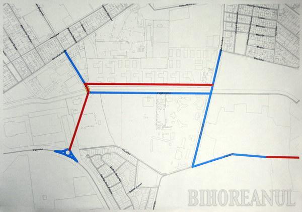 Primăria Oradea construieşte noi poduri şi străzi (FOTO)