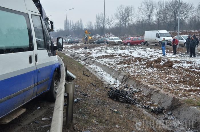 Accident cu trei maşini, pe Centură: Două persoane au murit! (FOTO/VIDEO)