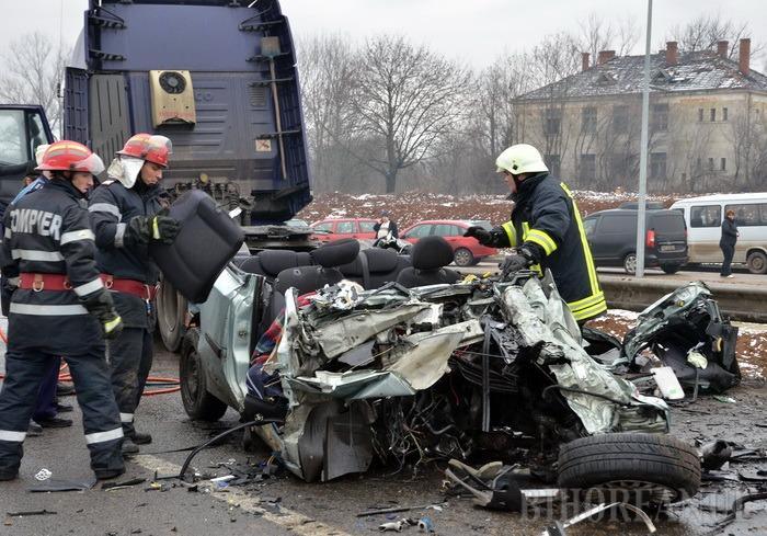 Cele două victime din accidentul de pe Centură erau din Sântandrei. Primele concluzii ale poliţiştilor (VIDEO)