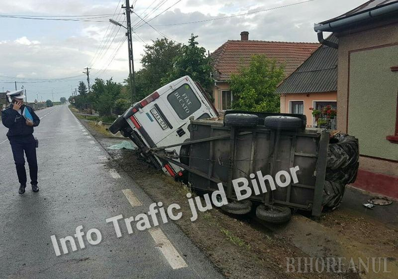 foto: Facebook Grupul Info Trafic Bihor