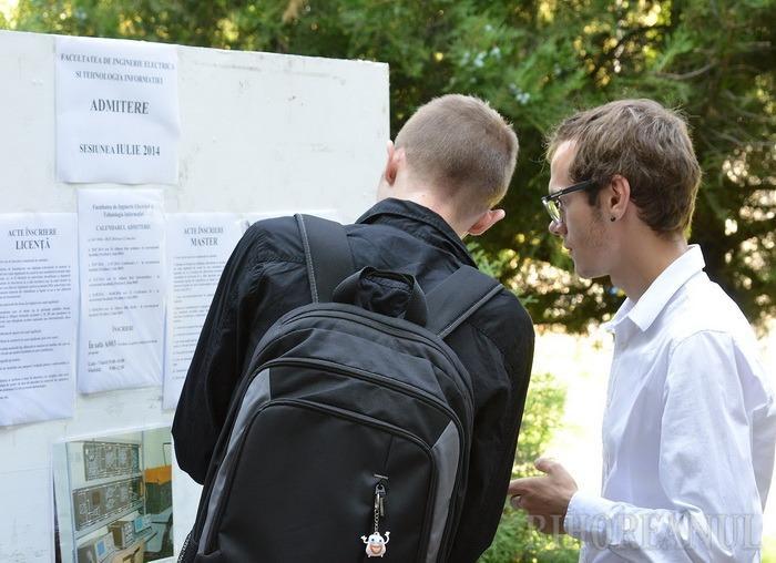 Facultăţi da, studenţi ba! Tot mai puţini tineri se înscriu la admitere la Universitatea din Oradea