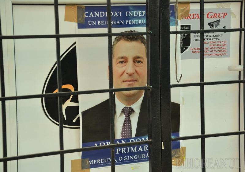 Domocoș, la închisoare! Fostul primar al Beiuşului, Adrian Domocoş, a fost încarcerat, episcopul Bercea a fost achitat definitiv