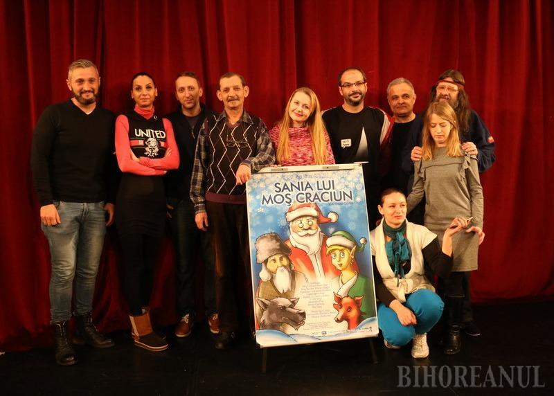 Sania Lui Moş Crăciun, premieră de sezon la Teatrul Arcadia