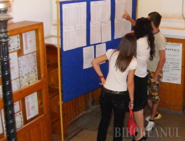 Promovabilitate puţin peste 50% la examenul de Bacalaureat în Bihor şi nicio medie de 10