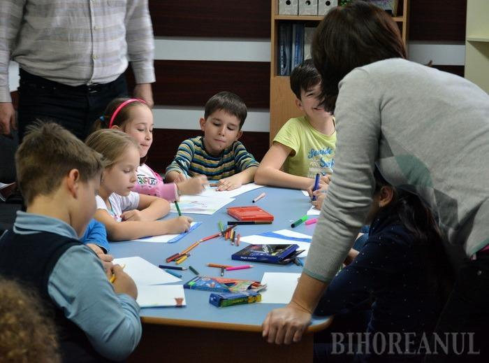Program de vacanţă pentru copii, la Bibliotecă