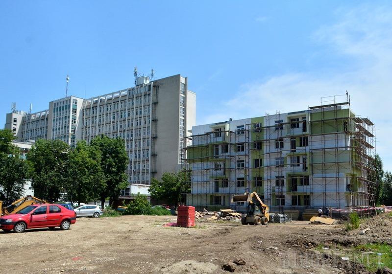 Blocul ANL pentru medici rezidenţi din Oradea este în curs de finalizare
