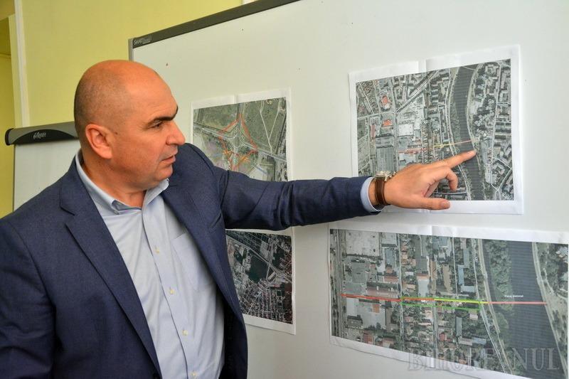 Primăria Oradea va face un coridor pietonal, cu un nou pod peste Criş, spre zona Prima – Lotus Retail Park (FOTO)
