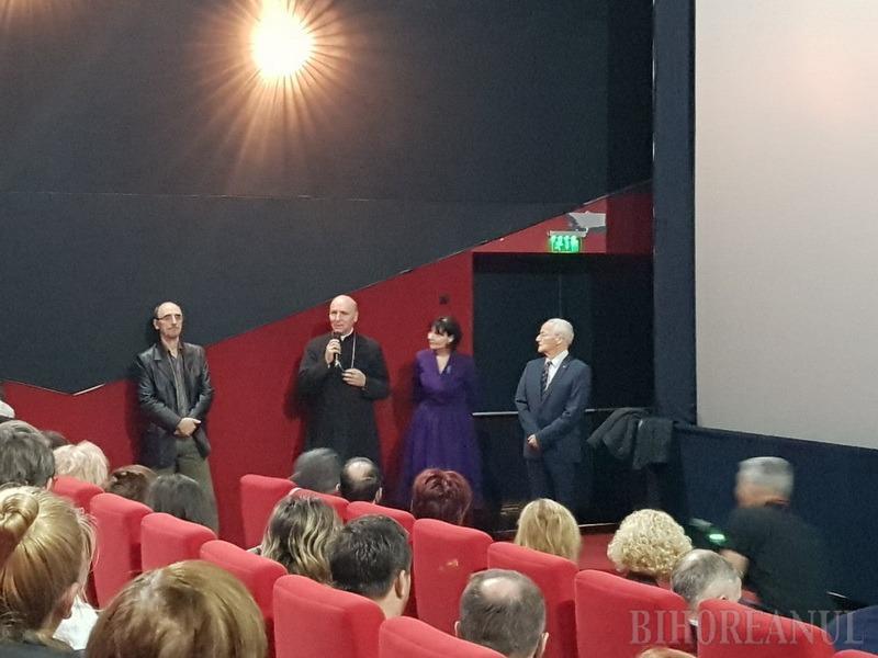 Avanpremieră emoţionantă: PS Virgil Bercea a participat la proiecţia filmului Cardinalul, dedicat episcopului Iuliu Hossu şi rezistenţei greco-catolice (VIDEO)