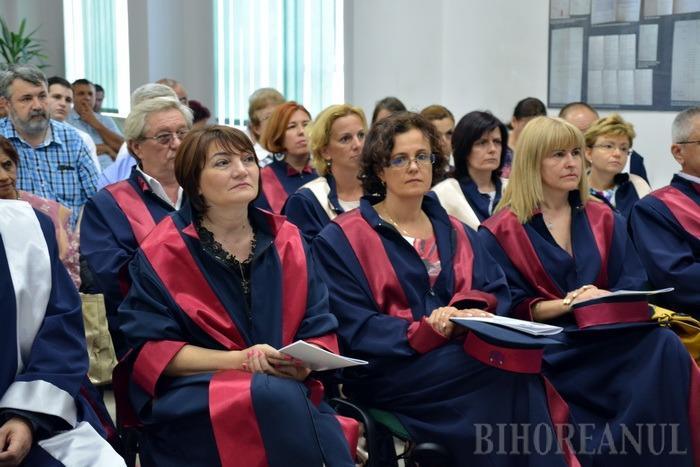 Doctor Honoris Causa: Unul dintre cei mai buni matematicieni ai lumii le-a vorbit universitarilor orădeni despre munca sa (FOTO)