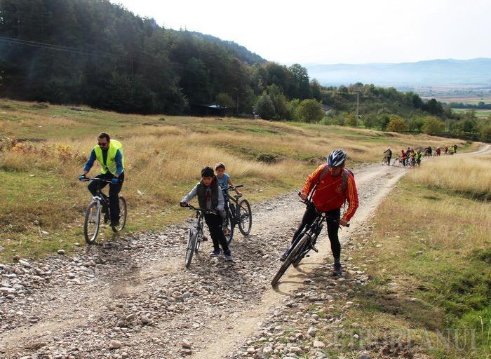 Proiect de 60.000 de dolari: Una dintre cele mai active organizații de mediu din Bihor va marca 300 km de trasee de cicloturism în Pădurea Craiului