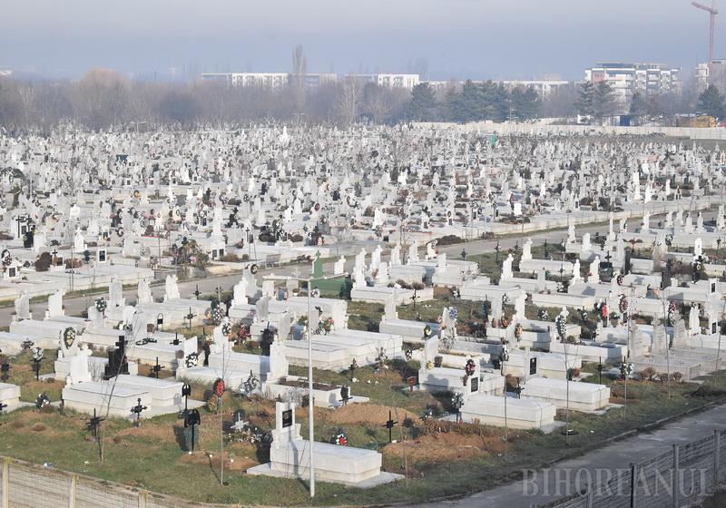 Măsuri împotriva COVID-19 la Cimitirul Municipal: La înmormântări să participe doar rudele şi apropiaţii