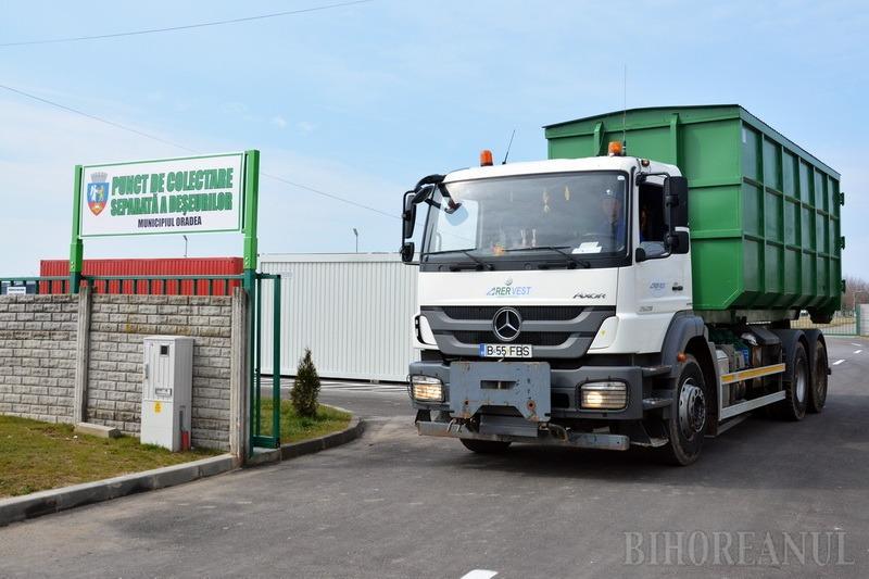 Depozitul din strada Thurzo Sandor a preluat aproape 1.500 tone de deşeuri într-un singur an