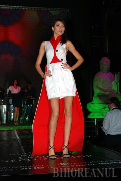 Creatoarea Amalia Buie, locul al doilea la un festival de modă în Bamboo