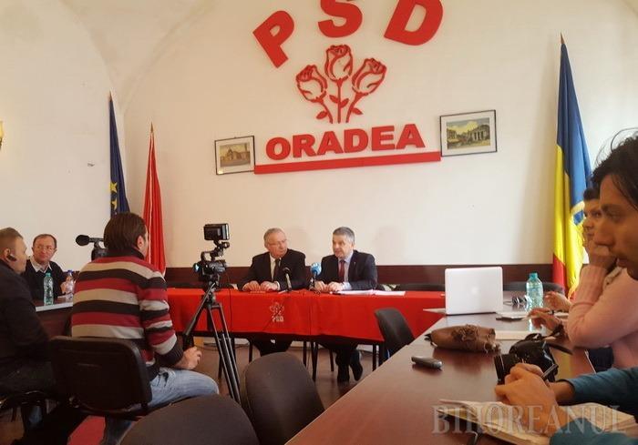 Boicot al PSD: BIHOREANUL n-a fost invitat la conferinţa de presă susţinută de ministrul Sănătăţii la Oradea