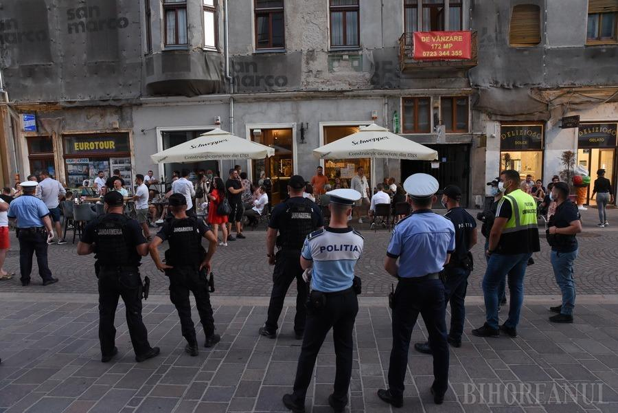 Bihorenii respectă distanţarea: Nicio amendă pentru nerespectarea măsurilor anti-Covid, în urma controalelor de sâmbătă pe terase