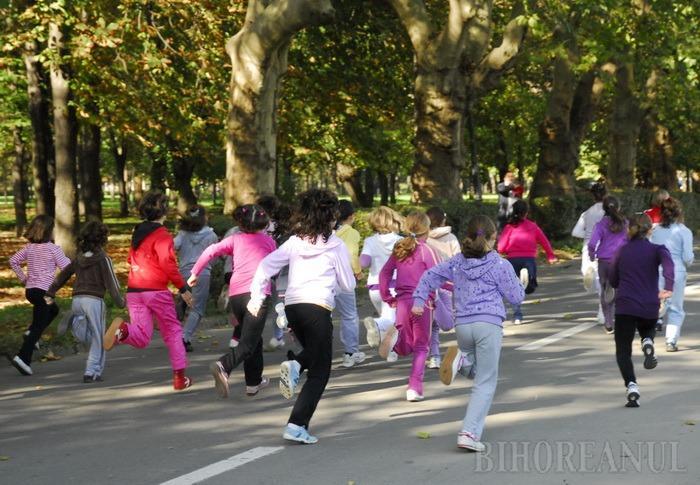 Cros pentru copii pe Dealul Şomleu, în scop caritabil