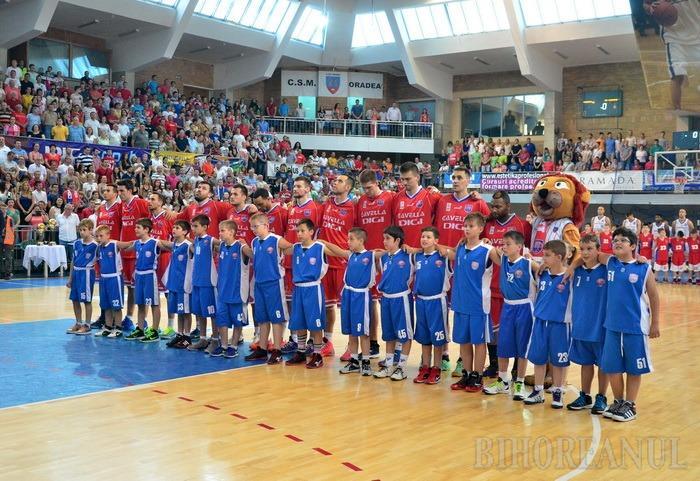 CSM Oradea îşi va afla duminică adversarii din FIBA EuroChallenge