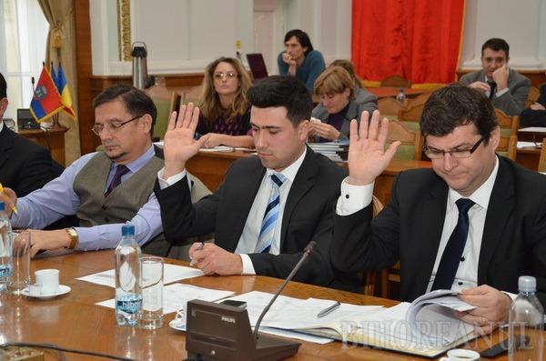 Prima şedinţă din 2013: Ioan Tau, Adrian Felea şi Ritli Laszlo Csongor sunt noii consilieri locali (FOTO)