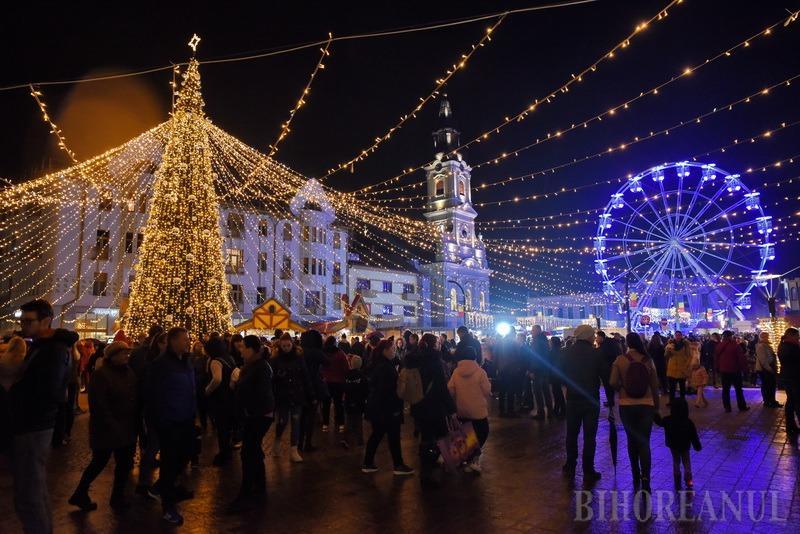 S A Deschis Targul De Craciun In Oradea Vezi Cum Arata Foto