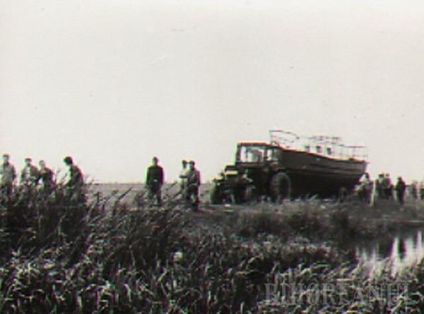 Iaht pentru evadare: Un bihorean şi-a construit cu mâna lui o ambarcaţiune ca să fugă de comunişti (FOTO)