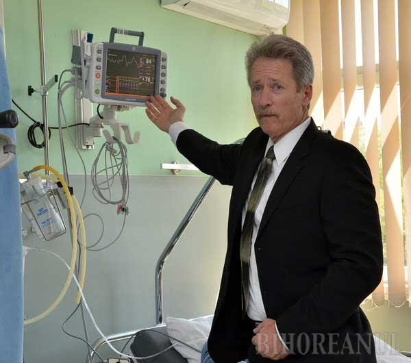 Americanii lui Ţîrle au donat Spitalului Judeţean aparatură ultraperformantă de 300.000 dolari (FOTO)