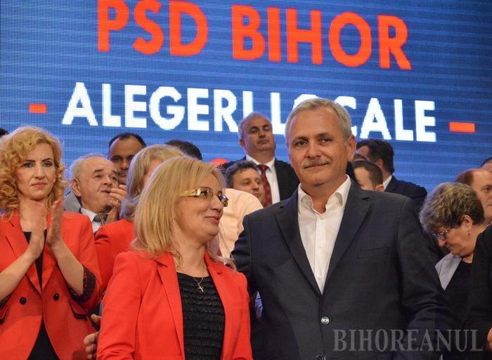 Nicio surpriză: PSD-iştii din Bihor se declară solidari cu Liviu Dragnea