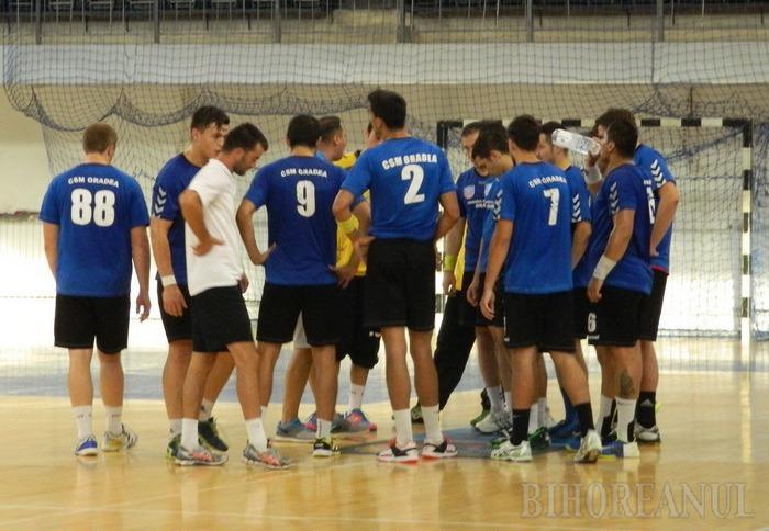 Handbaliştii de la CSM Oradea au câştigat turneul de la Sighişoara, dar au pierdut un jucător de bază pentru retur