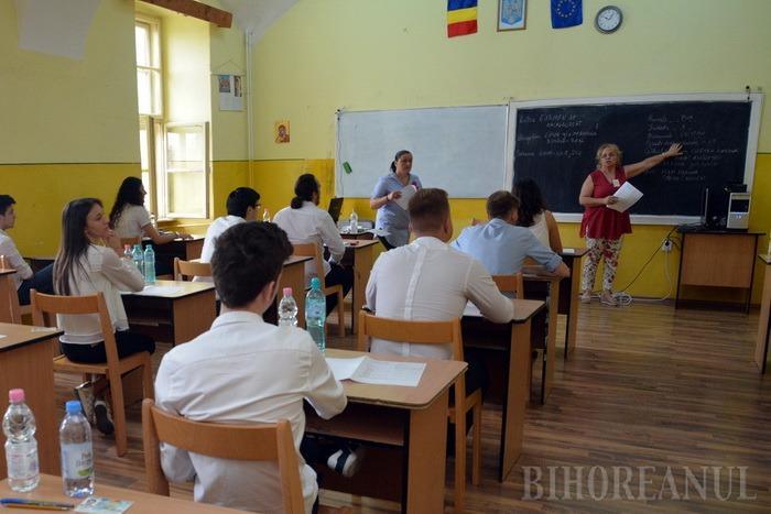 Începe Bacalaureatul de toamnă: Aproape 1.200 de bihoreni înscrişi la examen