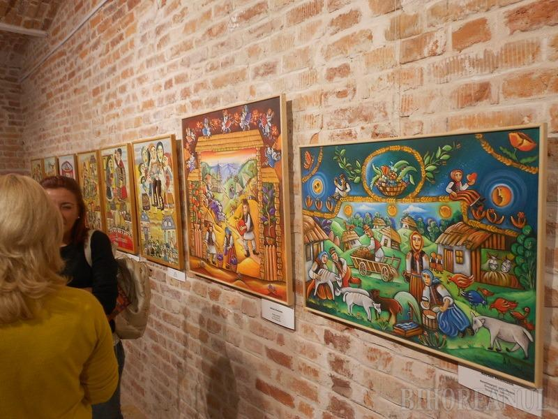 A cincea ediţie a Festivalului Naţional de Artă Naivă s-a deschis la Muzeul Ţării Crişurilor (FOTO)
