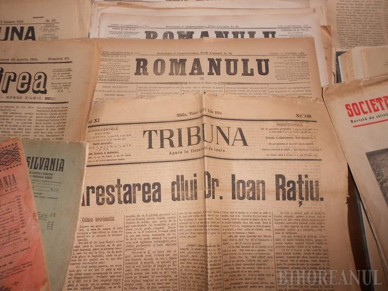 Judeţele de graniţă şi Centenarul: Expoziţie de presă şi carte veche la Muzeul Iosif Vulcan (FOTO)