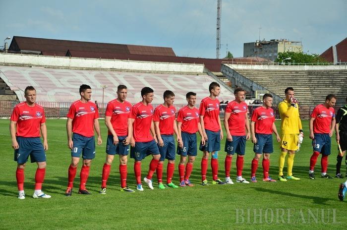 FC Bihor va întâlni, sâmbătă, Olimpia Satu Mare, în play-out-ul Ligii secunde
