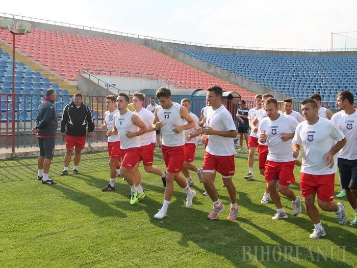 Incertitudine la FC Bihor, cu trei zile înainte de termenul limită de înscriere în Liga a II-a